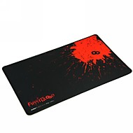 první krevní profesionální hrací podložka pod myš (41,5x25x0,2cm) - černá