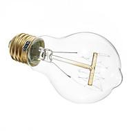 baratos Luzes LED de Dois Pinos-1pç 40 W 350 lm E26 / E27 A19 Contas LED Branco Quente 220-240 V / RoHs
