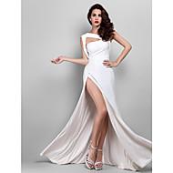 Kroj uz tijelo Remenje Do poda Žersej Prom / Formalna večer / Svečana priredba Haljina s Prednji izrez po TS Couture®
