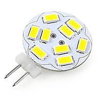 G4 LED-spotpærer A60(A19) 12 leds SMD 5730 Dekorativ Kjølig hvit 200lm 6000-6500K DC 12V
