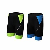 Unisex Cykel Shorts Hurtigtørrende, Åndbart Spandex, Polyamid Grøn og Sort / Blå og sort Cykeltøj