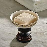 ieftine Farfurii de Săpun-Vesela și săpun Titularii Detașabil Antichizat Alamă / Lemn 1 buc