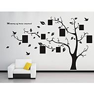 Χαμηλού Κόστους Αυτοκόλλητα Τοίχου-Βοτανικό Αυτοκολλητα ΤΟΙΧΟΥ Αεροπλάνα Αυτοκόλλητα Τοίχου Διακοσμητικά αυτοκόλλητα τοίχου, Βινύλιο Αρχική Διακόσμηση Wall Decal Τοίχος