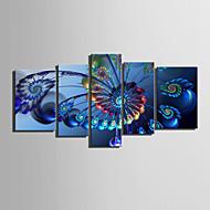 voordelige Prints-Abstract Klassiek Modern, Vijf panelen Horizontaal Print Muurdecoratie Huisdecoratie
