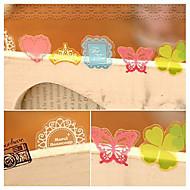 pvc dekorative klistermærker (70stk tilfældig farve)