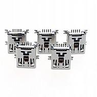 Tomada miniUSB 5 pinos fêmea SMD assento ficha do tipo de solda conector (5pçs)