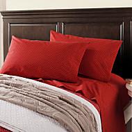 cheap Sheet Sets & Pillowcases-Comfortable Cotton Sheet Set Novelty Pigment Print 200 TC