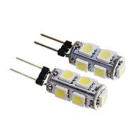 2pcs G4 Automobil Žarulje 1.5 W SMD 5050 140-170 lm 9 LED Svjetla u unutrašnjosti For Univerzális