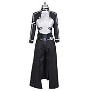 Χαμηλού Κόστους Anime PLA-Εμπνευσμένη από Στολές Ηρώων Στολές Ηρώων Anime Στολές Ηρώων Κοστούμια Cosplay Patchwork Επίστρωση Παντελόνια Γάντια Ζώνη Αξεσουάρ Μέσης