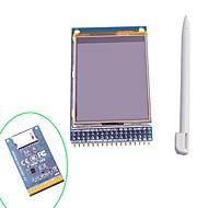 """2.4 """"TFT LCD-berøringsskjerm skjerm modul med pekepennen for Arduino"""