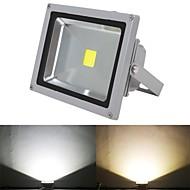 LED прожекторы 1 светодиоды Высокомощный LED Тёплый белый Холодный белый 5000lm 2800-7000K AC 85-265V
