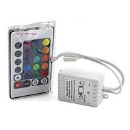 billige Lampesokler og kontakter-6a 24 nøkkel ir fjernkontroll trådløs for 3528 5050 rgb stripe