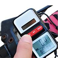 사이클링/자전거 자전거 디지털 장비 스탑 와치 방수 시계 온도 표시 Av - 평균 속도 설정 (km / M) 나이트 비젼 시간 계산기 라이딩 자동 전원 켜짐/꺼짐