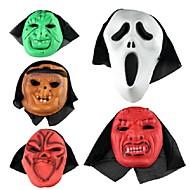 festa a fantasia máscara de halloween (cor aleatória)