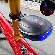 billige Sykkellykter og reflekser-Baklys til sykkel / sikkerhet lys / Baklys LED Sykling Vanntett Cellebatterier Batteri Sykling / Multifunktion