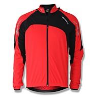 Χαμηλού Κόστους SPAKCT®-SPAKCT Ανδρικά Μπουφάν ποδηλασίας Ποδήλατο Σακάκι / Μπολύζες Αντιανεμικό, Διατηρείτε Ζεστό Patchwork Χειμώνας Κόκκινο / Πράσινο / Μπλε Ποδηλασία Βουνού Χαλαρή Εφαρμογή Ρουχισμός Ποδηλασίας / Ελαστικό