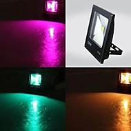 tanie Naświetlacze-1 Diody LED LED wysokiej mocy 1 Pilot zdalnego sterowania 24 klucze RGB Wodoodporny / Dekoracyjna / Przejście kolorów 100-240 V 1 zestaw