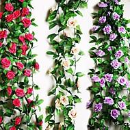 1 tak rose vine kunstbloemen huisdecoratie bruiloft aanbod