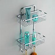 Prateleira de Banheiro / Aço Inoxidável Aço Inoxidável /Contemporâneo