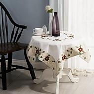 yılbaşı masa örtüleri klasik nakış masa örtüsü 85 * 85cm