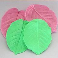 저렴한 -3D 잎 클램핑 퐁당 케이크 실리콘 몰드 케이크 장식 도구, l8cm * w6.5cm * h1cm
