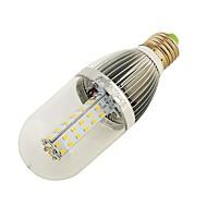 billige Kornpærer med LED-YouOKLight 10W 800-850 lm E26/E27 LED-kornpærer T 54 leds SMD 2835 Dekorativ Varm hvit Naturlig hvit DC 12 V