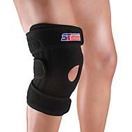 Knestøtte til Sykling Vandring Løp Trening Jogging Unisex Justerbar Stretch Pustende Sport Nylon 1pc