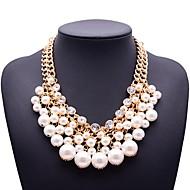 evigheden damemode perler rhinestones halskæde