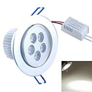 baratos Luzes LED de Encaixe-SENCART 1pç 300-350lm 5PCS Contas LED LED de Alta Potência Decorativa Branco Quente / Branco Frio / Branco Natural 85-265 V / FCC
