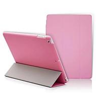 iPad 2 / iPad 3 / iPad 4 kompatibilní s novinkou pu kožené pouzdro smart kryt s matným případ