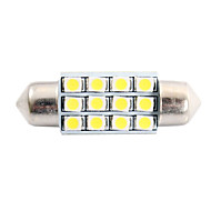 abordables Lámparas LED de Coche-SO.K T11 Bombillas 2W SMD LED 80lm LED Luces interiores