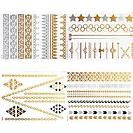 זול קעקועים זמניים-#(8) תבנית סדרת תכשיטים מדבקות קעקועים
