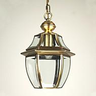 olcso -Hagyományos / Klasszikus Függőlámpák Süllyesztett lámpa - Mini stílus, 110-120 V 220-240 V Az izzó nem tartozék