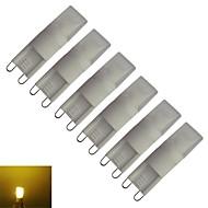 billige Bi-pin lamper med LED-210-270 lm G9 LED-kornpærer T leds Varm hvit AC 85-265V V