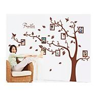 billiga Väggklistermärken-Tecknat Botanisk Väggklistermärken Väggstickers Flygplan Fotostickers, Vinyl Hem-dekoration vägg~~POS=TRUNC Vägg