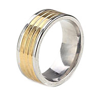 cheap Customized Apparel Accessories-Personalized Gift  Fashionable Stainless Steel Jewelry Engraved  Men's Ring