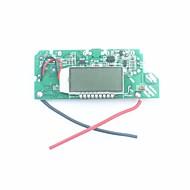 "fx-608-pcba DIY 1.2 ""LCD dual-usb 5v saída impulsionar módulo pcb w / LED de energia móvel - prata + azul"