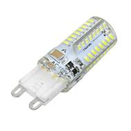 ywxlight® 3w g9 led maissi valot 64 leds smd 3014 himmennettävä lämmin valkoinen kylmä valkoinen 300lm AC 220-240v