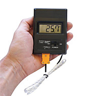 "draagbare 2 ""scherm digitale lcd thermometer thermodetector meter -50 ° C-1300 ° C (1 x 9V batterij)"