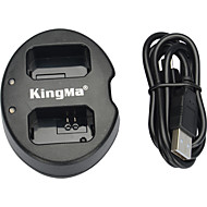 KingMa® Dual Slot USB Battery Charger for SONY NP-FW50 Battery for NEX-5C NEX-C3 NEX-7 A33 A55 NEX-5N NEX-F3 SLT-A37 NEX-7 Camera