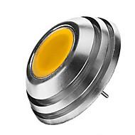 baratos Luzes LED de Dois Pinos-2W 120-150lm G4 Lâmpadas de Foco de LED 1LED Contas LED COB Branco Quente / Branco Frio 12V / 1 pç / RoHs / CCC