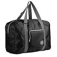 TIANYAT Unisex Waterproof Lightweight Travelling Bag/Casual Nylon Totes/Luggage Bag/ Duffel Bag Black
