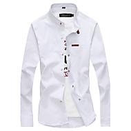 Veći konfekcijski brojevi Majica Muškarci Jednobojni Pamuk