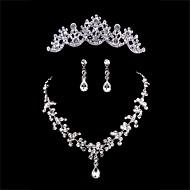 billiga Brudsmycken-Dam Andra Smyckeset Örhängen / Dekorativa Halsband / Tiaror - Regelbunden Till Bröllop / Party / Speciellt Tillfälle