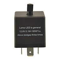 led (DC11 ~ 15v 0.02 ~ 20a) için cf13kt araba kondansatör ayarlanabilir cihaz / flaşör