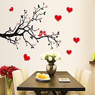 billiga Väggklistermärken-Djur Tecknat Botanisk Väggklistermärken Holiday väggdekaler Dekrativa Väggstickers, Vinyl Hem-dekoration vägg~~POS=TRUNC Vägg