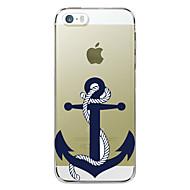 billiga Mobil cases & Skärmskydd-fodral Till Apple iPhone 5-fodral iPhone 6 iPhone 6 Plus iPhone 7 Plus iPhone 7 Mönster Skal Ankare Hårt TPU för iPhone 7 Plus iPhone 7