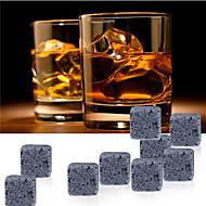 9 PC / Los Whiskysteine Rock Eiswürfel Speckstein Getränke Gefrierfach