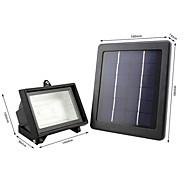 1pc liderliğindeki güneş ışıkları 40 entegre led 900-1000lm beyaz renkli sensör şarj edilebilir dekoratif led sel ışık