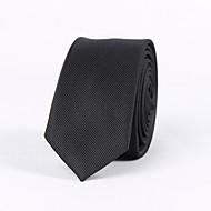 muški party / večernji vjenčanja formalni crni prugasti uski kravata